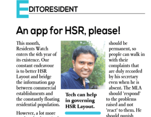 An official app for HSR, please!