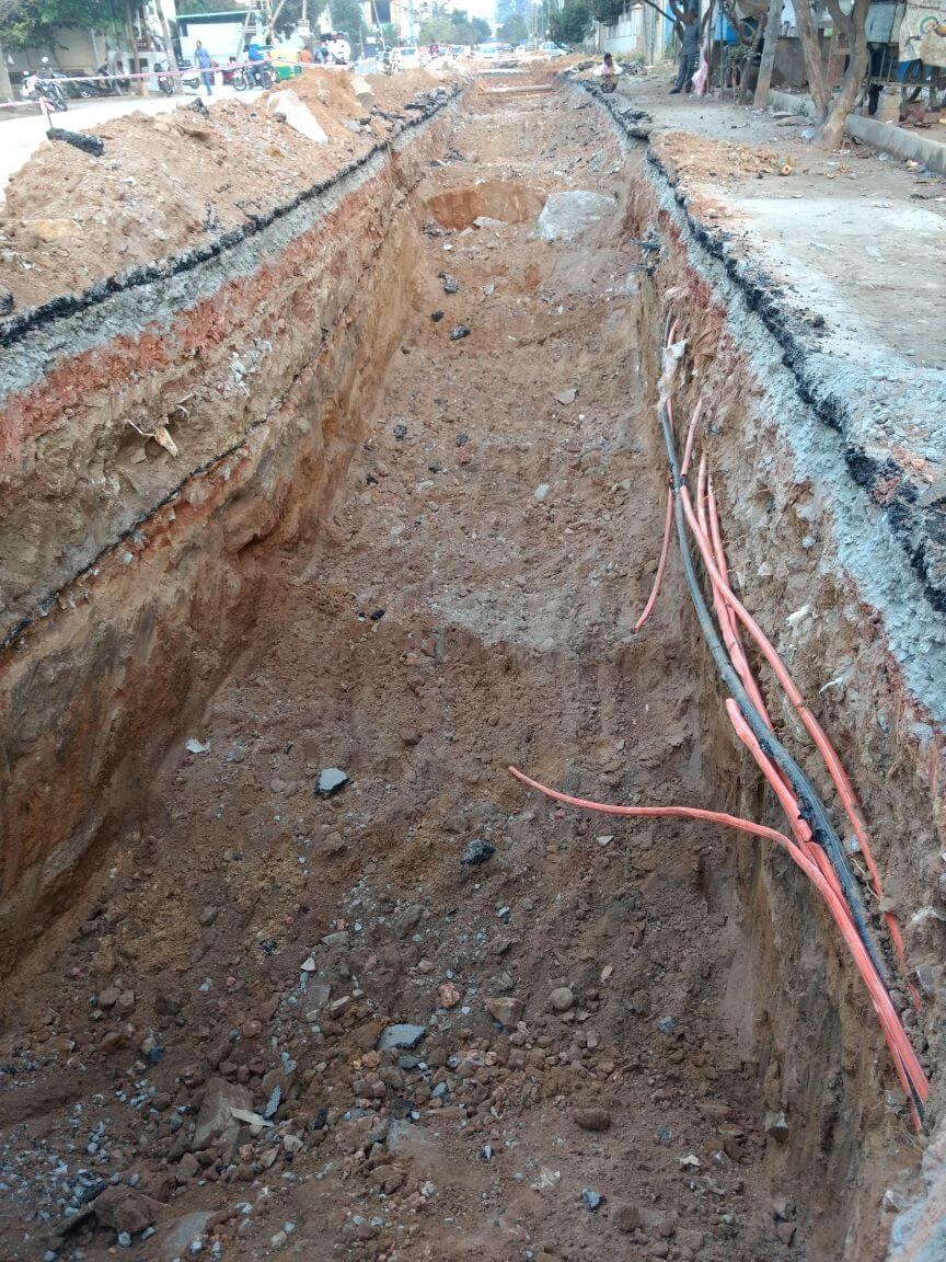 Residents stop drainage work | | Residents Watch