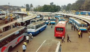 HSR needs a bus stand